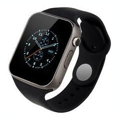 Ceas SmartWatch MediaTek™ A1 - Watch Black Edition - Telefon microSIM, microSD camera