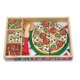 Set de joaca Pizza Party Melissa and Doug, 3 ani+