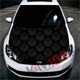 """Sticker Imprimat Color pentru Capota """"Hood Art"""" cod: KM-HOOD-27"""