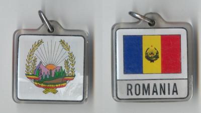 Medalie STEMA SI STEAG - REPUBLICA SOCIALISTA  ROMANIA - RARA foto