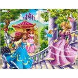 Cumpara ieftin Set 2 Puzzle-uri Printese, 11 piese Larsen LRU8 B39016786