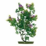Planta de acvariu- plastic, 25 cm flori violete