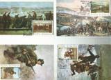 AMS - SET MAXIME ROMANIA 1977 - INDEPENDENTA. PRIMA ZI