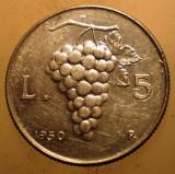 1.807 ITALIA STRUGURI 5 LIRE 1950
