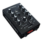 Mixer Ibiza Crossfader MIX500BT, 2 canale, bluetooth, usb, mp3