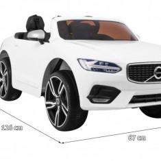 Masinuta electrica Volvo S90, alb