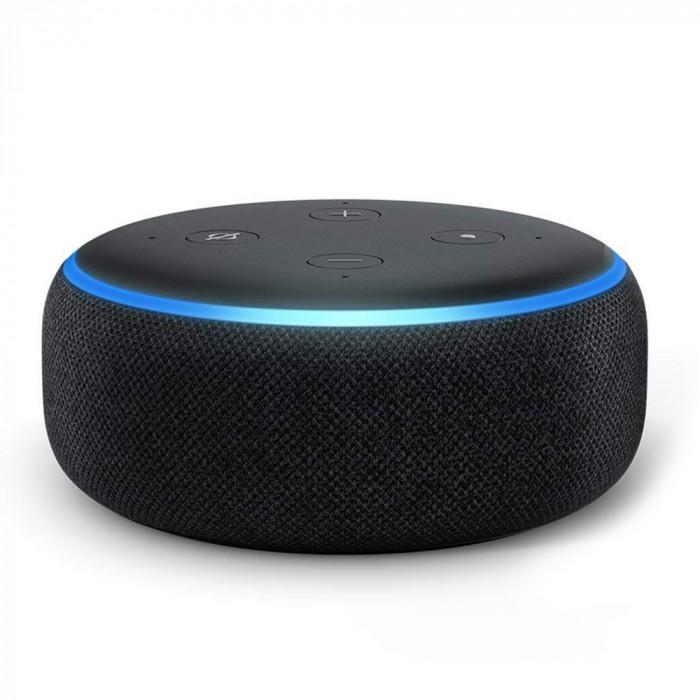 Resigilat : Boxa inteligenta Amazon Echo Dot 3rd Gen culoare Negru