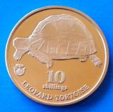 Biafra 10 shilling 2018 UNC Broasca Testoasa