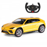 Cumpara ieftin Masinuta cu telecomanda Rastar Lamborghini Urus, Galben, 1:14