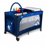Cumpara ieftin Patut Pliant Sleepy Baby Albastru, Juju