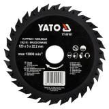 Disc circular raspel pentru lemn 125 x 5 x 22.2 mm Yato YT-59161