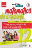 Matematica de excelenta - Clasa 12 - Vol.2: Analiza matematica pentru concursuri, olimpiade si centre de excelenta