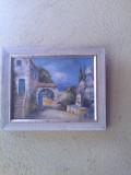 Tablou pictura pe pinza-Peisaj, Peisaje, Acuarela, Altul