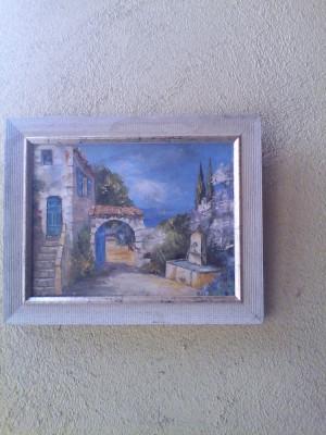 Tablou pictura pe pinza-Peisaj foto