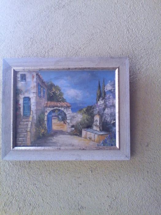 Tablou pictura pe pinza-Peisaj