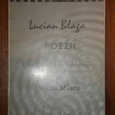 POEZII-LUCIAN BLAGA,1995 , PREZINTA SUBLINIERI CU PIXUL *