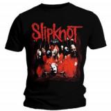 Tricou Unisex Slipknot: Band Frame
