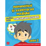 Matematica si explorarea mediului. Pregatirea pentru concursuri scolare. Clasa I, autor Daniela Berechet
