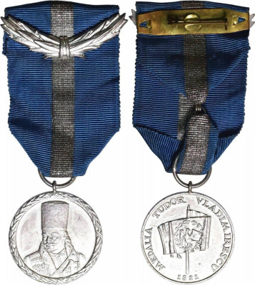 Medalia Tudor Vladimirescu foto