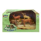 Set 4 figurine 7 cm Luna Animal World 439353, Maro