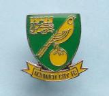Insigna  Pin  Fotbal  -  NORWICH  CITY  F.C.