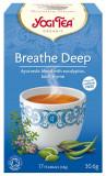 Ceai Bio RESPIRATIE PROFUNDA, 30.6g Yogi Tea