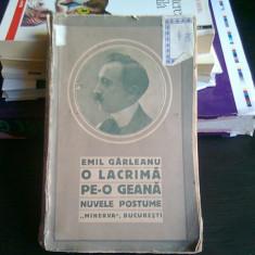 O LACRIMA PE-O GEANA - EMIL GARLEANU