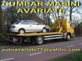 Cumpar Dacia Duster avariat,dauna totala,epava