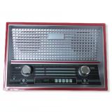 Pusculita , radio vechi , retro , 18cm x 12cm