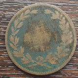 (MR46) MONEDA ROMANIA - 2 BANI 1867, HEATON, UZATA