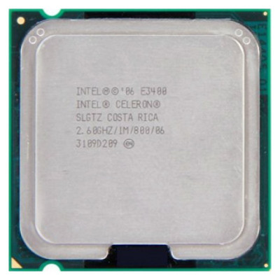 Procesor second hand Intel Celeron, Dual Core, E3400, 2.6GHz foto