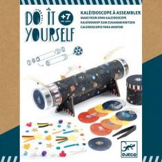 Set creativ DIY Djeco - Cum sa creezi un caleidoscop
