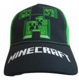 Sapca Minecraft Creeper Inside , Ajustabila , ORIGINAL, Mojang, 8 ani +