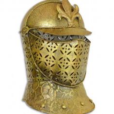 Coif medieval decorativ din alama masiva RX-369
