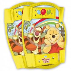 Set protectie cotiere si genunchiere Winnie The Pooh Disney Eurasia, 3 ani+