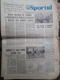 Ziarul Sportul din 5 aprilie 1975