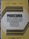 PROIECTAREA MASINILOR-UNELTE - A. VALDA, E. BOTEZ, S. VELICU