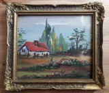 Peisaj – pictură din anul 1979
