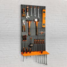 Panou organizator de scule, pe perete - 3 panouri, 50 x 33 cm Best CarHome