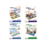 Set 4 puzzle-uri 3D CubicFun