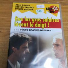 Film DVD Que les gros... France #61265GAB