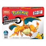 Pokémon Mega Construx Wonder Builders Construction Set Charizard 10 cm, Mattel