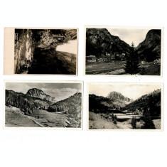 Lacul Ghilcos(Rosu) - Lot 4 carti postale anii 1940