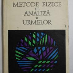 METODE FIZICE DE ANALIZA A URMELOR de G. E. BAIULESCU , T. NASCUTIU , 1974