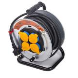 Prelungitor electric rola 3x1.5, 25m