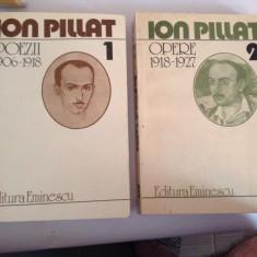 Poezii Opere VOL1-2 Ion Pillat  RF15/4