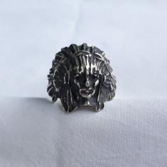 INEL argint INDIAN APACHE splendid VECHI manopera EXCEPTIONALA patina MINUNATA