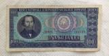 BANCNOTA 100 LEI 1966 SERIE D.0024