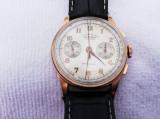 Ceas SULTANA - TITUS Cronograf Aur 18K, Mecanic-Manual