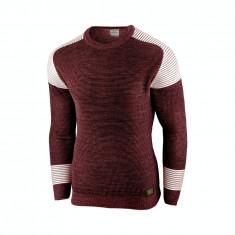 Bluza pentru barbati visiniu flex fit casual alaska fashion